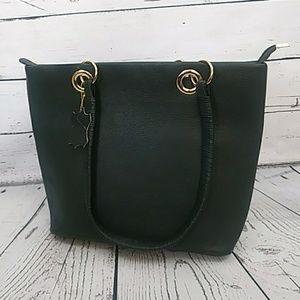 Handbags - 🖤Black Leather Shoulder Bag